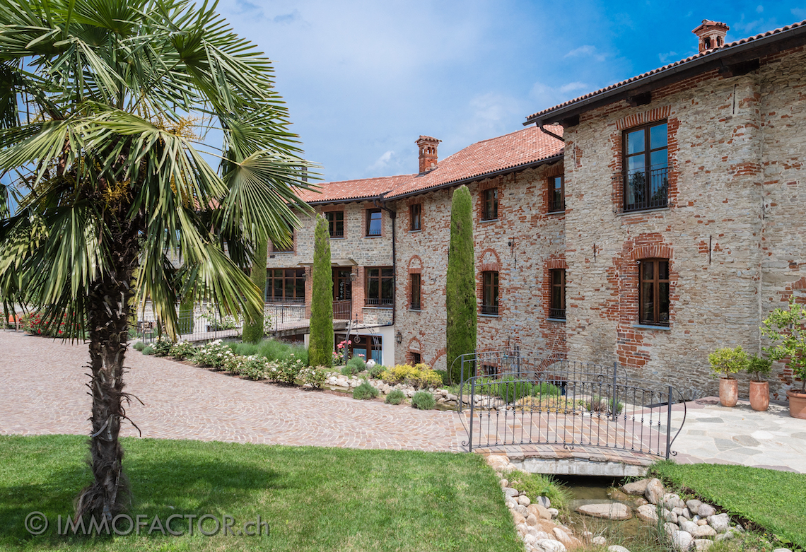 Historical property in the heart of the sunny hilly of southern Piedmont